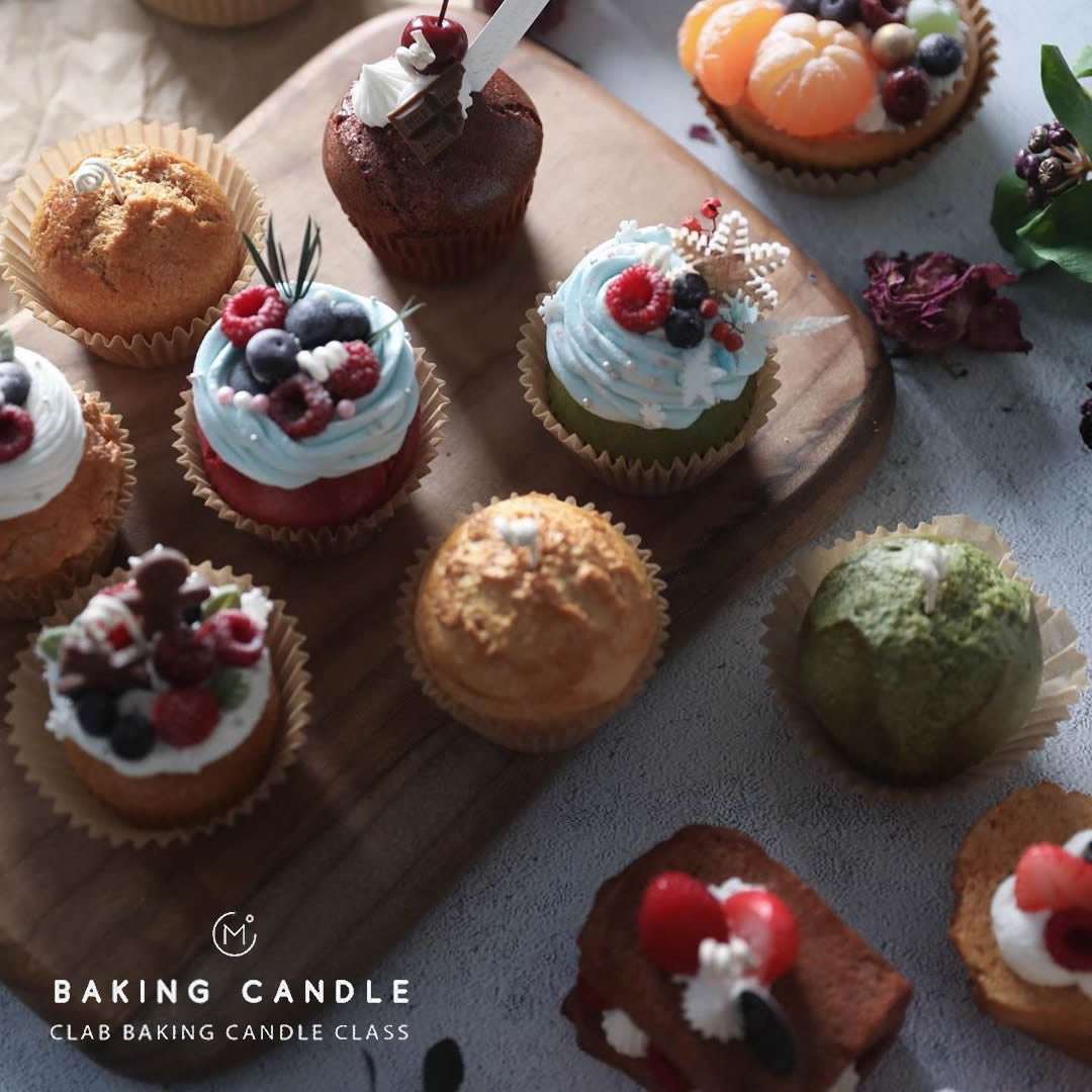 Clab Baking Candle