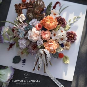 CLAB Flower Art Candle_c