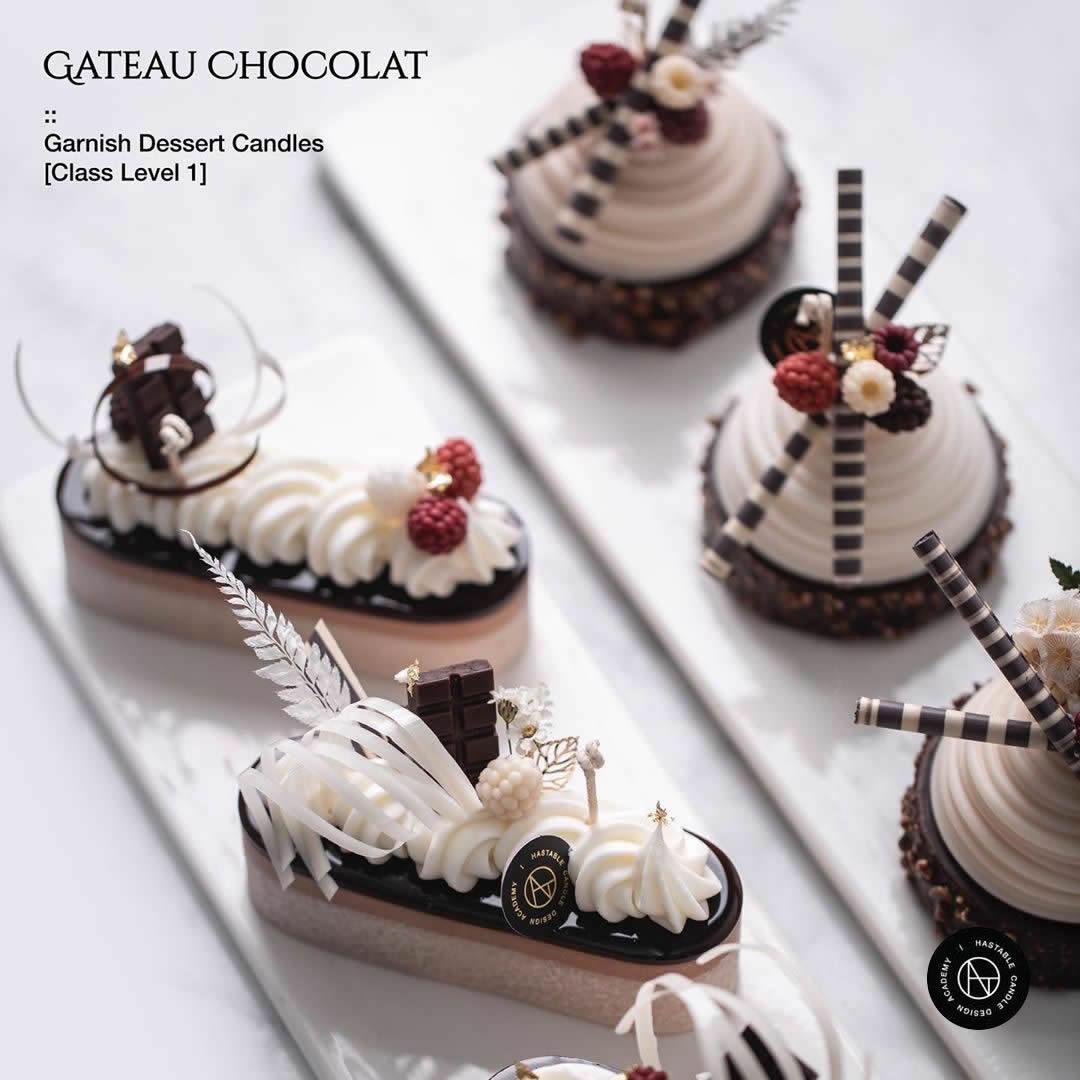 Garnish Dessert Candle Level 1