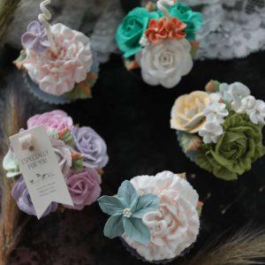 KNDA Korean Natural Design Association Soy Flower Candle_f