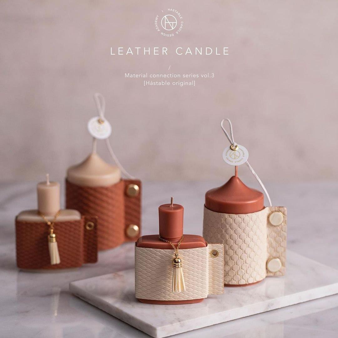 Leather Candles 皮革蠟燭 蠟燭證書課程 韓式蠟燭證書課程
